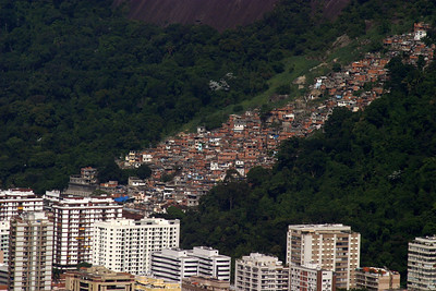 A Favela on the hill side