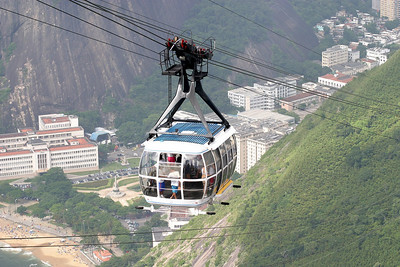 Sugar Loaf cable car. An idea of Brazilian engineer Augusto Ferreira Ramos inaugurated on October 27, 1912, had its ninetieth anniversary in 2002.