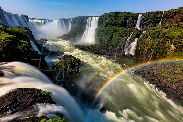 Double Rainbow Iguazu Falls