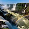 Double Rainbow Iguazu Falls