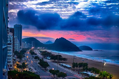 Sunrise in Rio