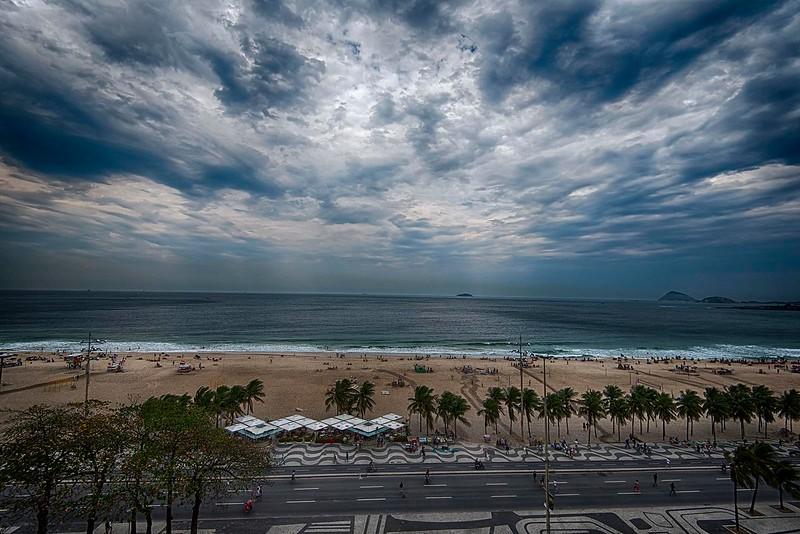 Clouds & the Beach