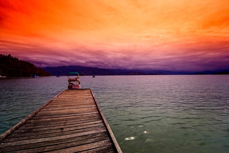 Pier in Paraty