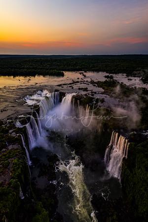 Aerial Iguazu