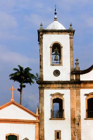 Capela de Santa Rita, Paraty, Costa Verde, Brazil
