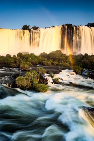 Sunlight on Iguazu