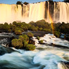 Sunlight on Iguazu