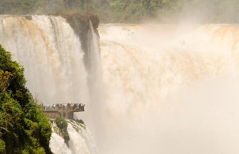 Iguaçu Falls, Garganta del Diablo (Devil's Throat)
