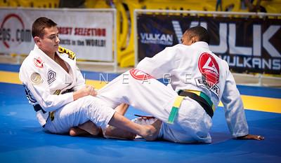 Caio Terra vs. Rafael Freitas in the Black Belt Light Feather division.