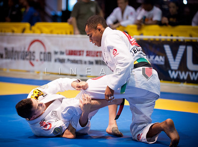 Caio Terra vs. Rafael Freitas in the Black Belt Light Feather division.