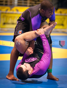 Brian Morizo attempts the Oma Plata on his opponent, Christian Broadnax.