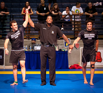 In a gentlemen's agreement, Igor Gracie is the gold medal winner of Gregor Gracie.