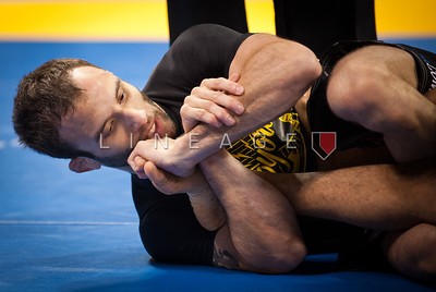 Samir Chantre from Gracie Fighter attempts to lock down on the ankle.