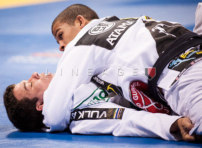 Marcelo Pereira from Nova Uniao vs. Bruno Malfacine in the Black Belt Rooster Division Quarter Finals.