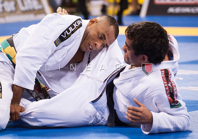 Rafael Freitas from Gracie Barra vs. Bernardo Pitel from Nova Uniao in the Black Belt Rooster Quarter Finals.