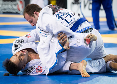 Archie Semana X Juan Cruz in the Master 2, blue belt, light-feather semi-final.