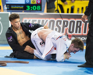 Jeremy Jackson (Heroes Martial Arts) vs. Espen Mathiesen (Nova Uniao)
