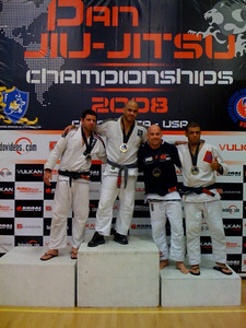 Jory Bronze in Master's Black Belt Division. He was the only American!