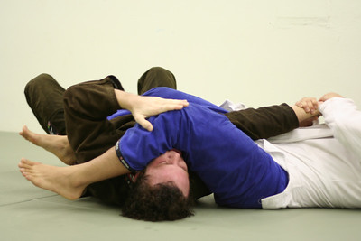 Armbar finish.