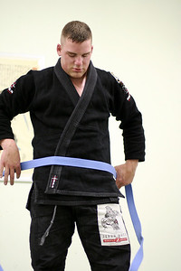 Scott Earned his Blue Belt.