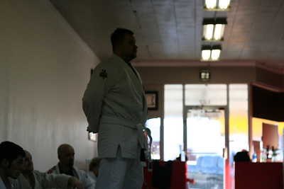Mr. Cole earns his Blue Belt in BJJ.