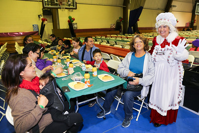 City of Paramount Breakfast with Santa