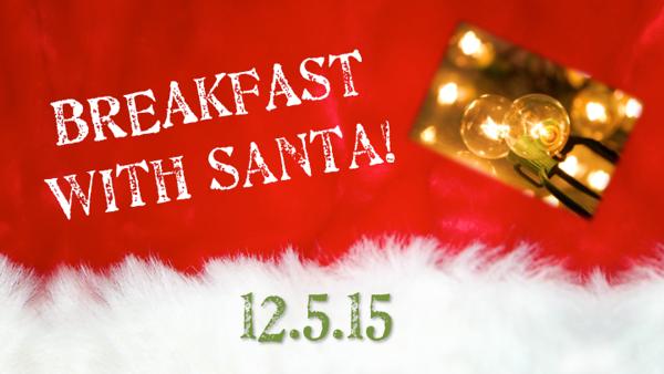 Breakfast with Santa 2015