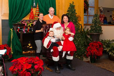 Breakfast with santa at Clayton Hall