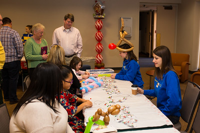 Breakfast with santa at Clayton Hall