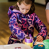 Gabriella Higgins, 6, works on spring crafts during Breakfast with the Bunny at the Fitchburg Senior Center on Saturday, April 8, 2017. Proceeds from the event with go towards Fitchburg's annual Civic Days events. SENTINEL & ENTERPRISE / Ashley Green