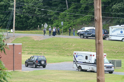 A shooting happend on Mile Post Road in Sunbury on Tuesday.