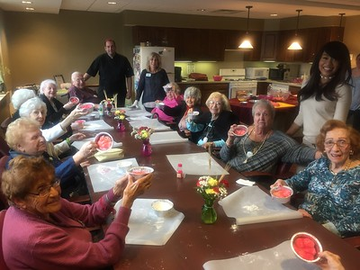 Breast Cancer Awareness at the Jewish Home Family