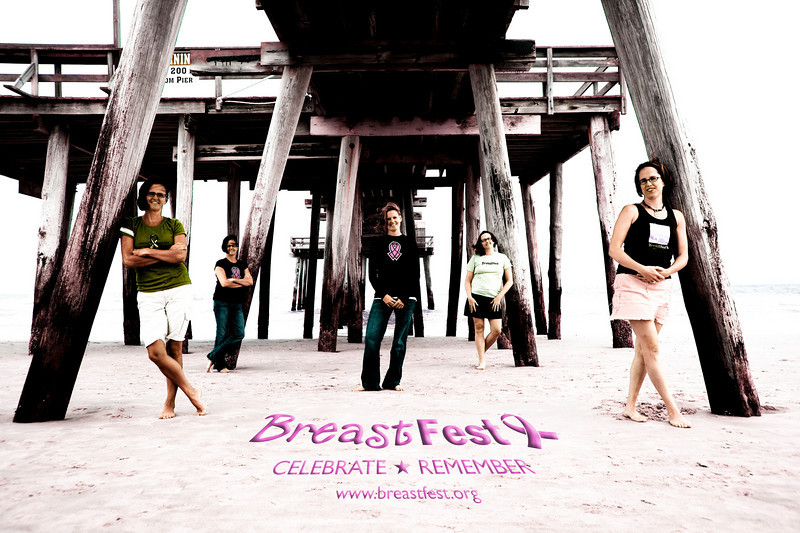 """This picture to the left I took  is 5 ladies who run a benefit called """"Breast Fest"""" out of South Jersey. Their mother died of the disease and they do fundraisers in 3 different states every year to raise money for the cause. These women are incredible and I will also be donating some of this money from the fundraiser this weekend to them. <br /> <br /> Their next event is April 17th 2010 at the Tap Room in Haddonfield NJ. It's a lot of fun and they had an amazing crowd there last year.<br /> <br />  <a href=""""http://www.breastfest.org"""">http://www.breastfest.org</a>"""