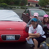 a convertible  (the special team)   The team consisted of:  Shelly Rohde, Kim Fitz Gerald, Tommie Price, Jeri Haubiel