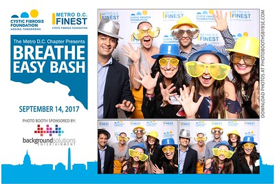 Cystic Fibrosis Foundation Breathe Easy Bash 2017 Photo Booth