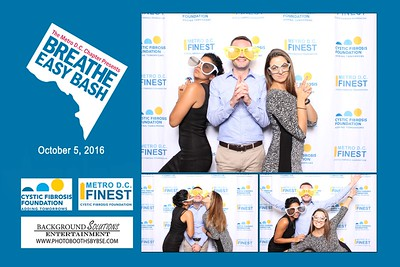Cystic Fibrosis Foundation Breathe Easy Bash Photo Booth