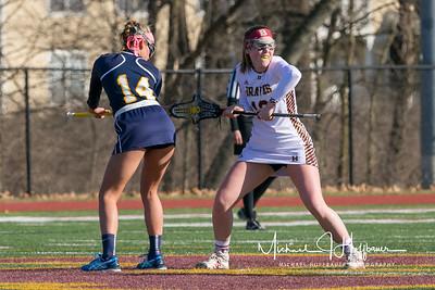 Brebeuf girls lacrosse vs. Louisville Collegiate School_March 10, 2018