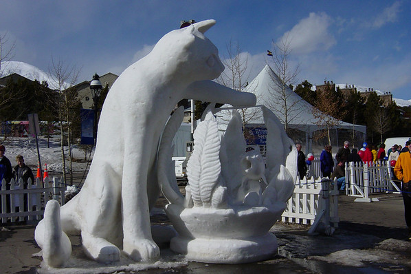 Breckenridge, Colorado -- 2003  Ice Sculpture Contest