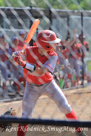 2016-05-30 Bees Baseball vs Mentor-Spiders 005