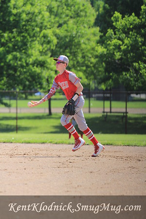 2016-05-30 Bees Baseball vs Mentor-Spiders 012