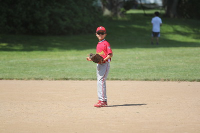 2015-06-07 Bees Baseball U8 vs Fairview 017
