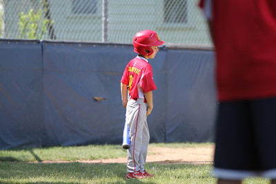 2015-06-07 Bees Baseball U8 vs Fairview 004