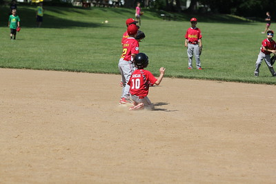2015-06-07 Bees Baseball U8 vs Fairview 014