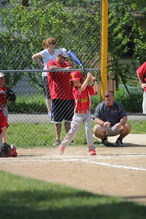 2015-06-07 Bees Baseball U8 vs Fairview 006