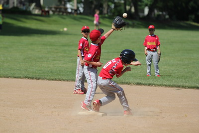 2015-06-07 Bees Baseball U8 vs Fairview 015