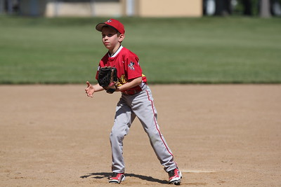 2015-06-07 Bees Baseball U8 vs Fairview 021