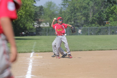 2015-06-07 Bees Baseball U8 vs Fairview 034