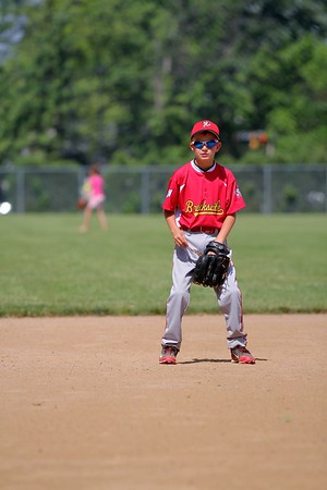 2015-06-07 Bees Baseball U8 vs Fairview 031