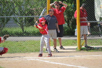 2015-06-07 Bees Baseball U8 vs Fairview 003
