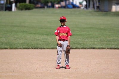 2015-06-07 Bees Baseball U8 vs Fairview 022